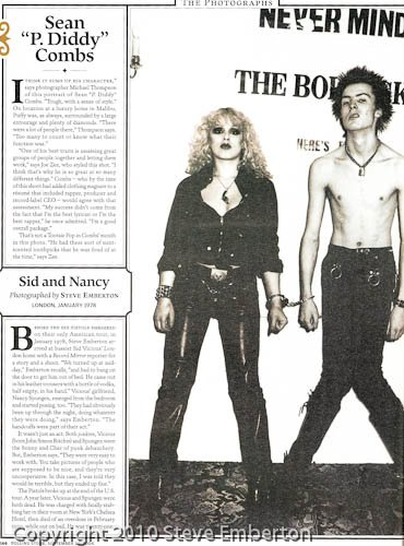 Rolling Stone with my image of Sid and Nancy