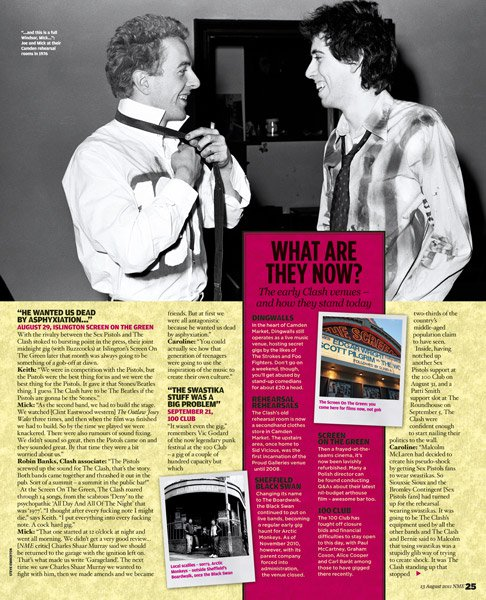 NME with my images of The Clash