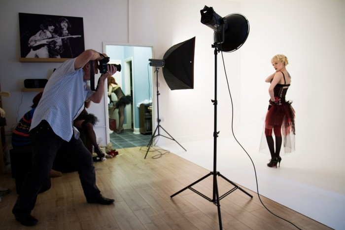 Model Shoot in our Bedford studio.
