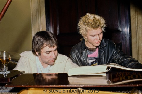 Keith Moon and Billy Idol
