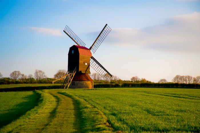 Stevington Windmill, Bedfordshire, UK